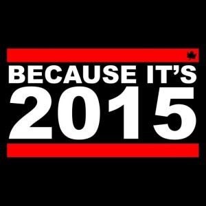 because it's 2015